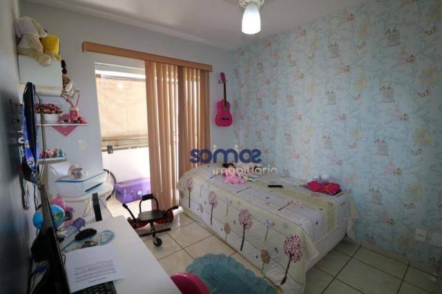 Apartamento com 3 dormitórios à venda, 95 m² por r$ 275.000,00 - jardim américa - goiânia/ - Foto 10