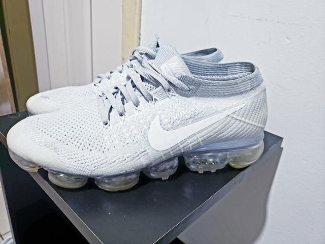 Nike Vapormax Flyknit 2 branco gelo - Foto 2
