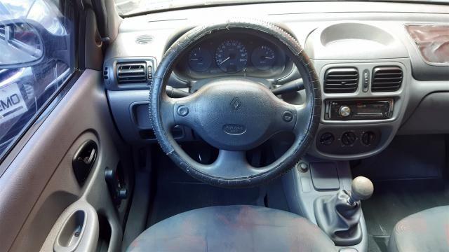 RENAULT CLIO 2001/2001 1.0 RL 16V GASOLINA 4P MANUAL - Foto 8