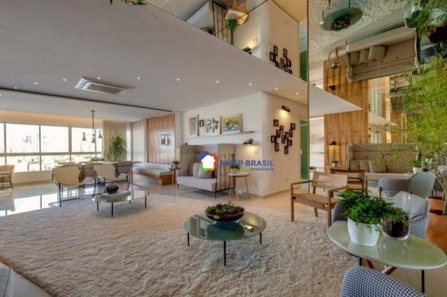 Apartamento com 3 dormitórios à venda, 178 m² por r$ 1.115.500,00 - setor marista - goiâni - Foto 8