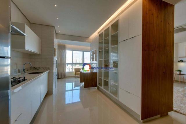 Apartamento com 3 dormitórios à venda, 178 m² por r$ 1.115.500,00 - setor marista - goiâni - Foto 3