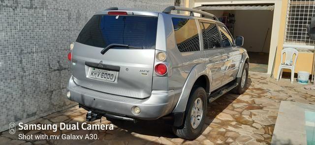 Pajero sport + inteira 2008 automatica 4x4 diesel - Foto 6