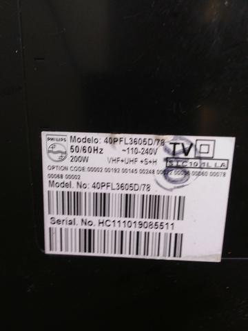 Tv Lcd 40 Philips com defeito baixei o preço - Foto 3