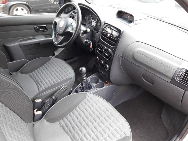 Fiat Strada Adventure 1.8 Flex Cabine Dupla Completa impecavel Baixo KM - Foto 14