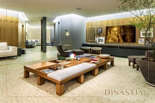 Apartamento com 4 dormitórios à venda, 326 m² por r$ 2.190.000,00 - setor marista - goiâni - Foto 4
