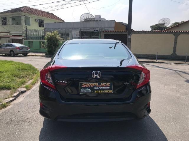 Honda Civic sport 2.0 flex com gnv 5.geração automático cvt completo 2018 - Foto 6