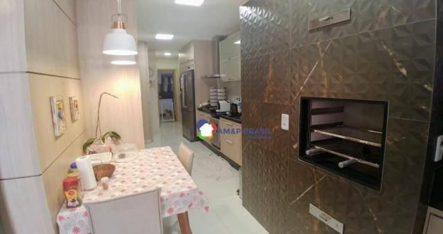 Apartamento com 3 dormitórios à venda, 179 m² por r$ 1.250.000,00 - setor marista - goiâni - Foto 7