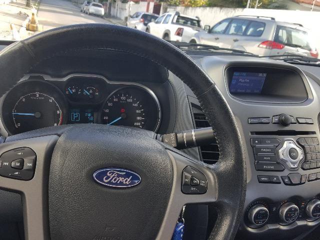Ford Ranger Branca XLT 3.2 4x4 - Diesel - Foto 13