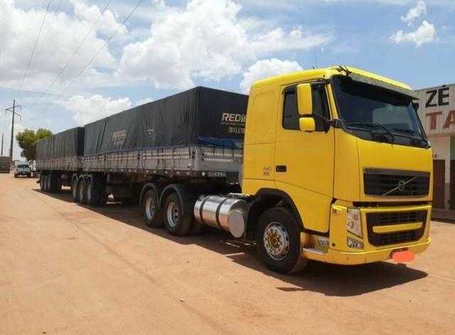 Volvo Fh 440 6x4 i-shift 2009/2010 Rodotrem Guerra 2010/2010 com pneus - Foto 9
