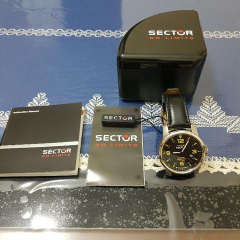 d6d13d38c25 Relógio Masculino Analógico Sector WS20127Y - Preto Amarelo