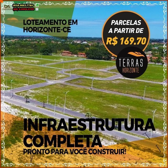"""Loteamento em Horizonte pronto para Construção R$ 169,70@"""" - Foto 18"""