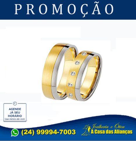 Bodas de Prata e de Ouro - Alianças em Promoção - Foto 6
