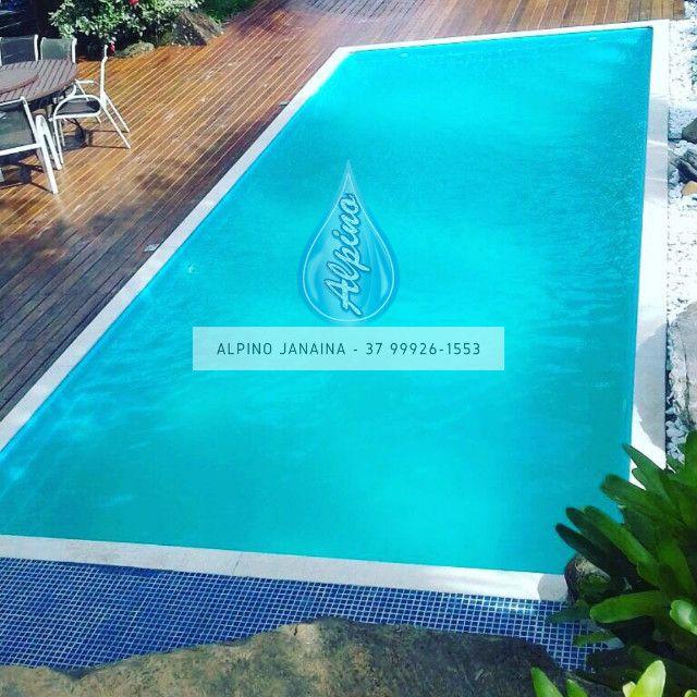 JA Piscina direto da fábrica Alpino - 8 metros - Foto 4