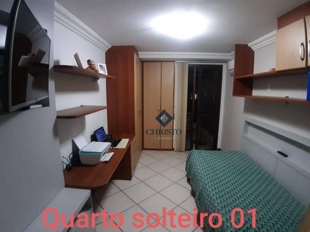 Apto com 3 Qtos à venda, 145 m² por R$ 690.000 - Praia de Itapuã. - Foto 5