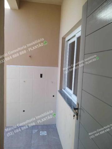 Excelentes Casas 2 Dormitórios 2 Vaga Gravataí Bom Sucesso Documentação Gratuita!! - Foto 7
