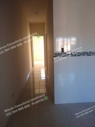 Excelentes Casas 2 Dormitórios 2 Vaga Gravataí Bom Sucesso Documentação Gratuita!! - Foto 5