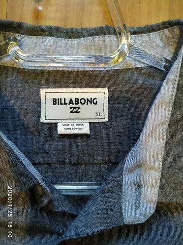 Camisa de botão Importada Billabong Tamanho XL - Foto 4