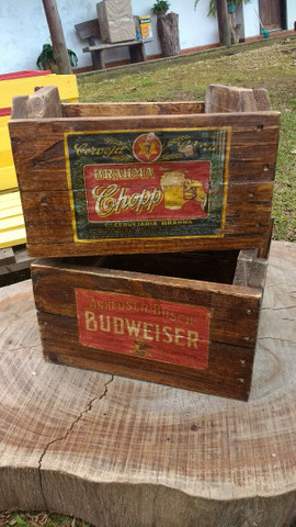 Caixote Vintage cerveja - Foto 4