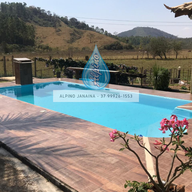 JA Piscina direto da fábrica - piscina de fibra 7 metros !! - Foto 3