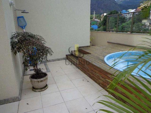 Cod: FRCO30031 - Cobertura 164 m², 3 quartos, 1 suíte, Freedom - Freguesia - RJ - Foto 4