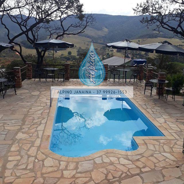 JA Piscina direto da fábrica - piscina de fibra 7 metros !! - Foto 4