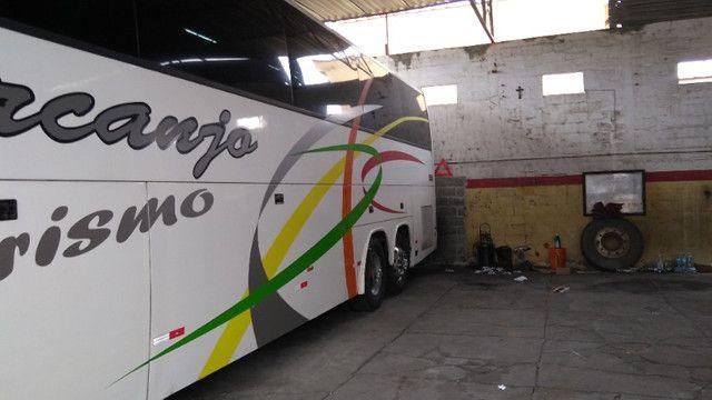 Vendo Ônibus irizar 2000/2000 46 lugares skania 124 ar condicionado executivo - Foto 4