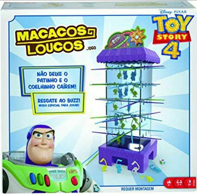 Jogo Macacos Loucos Disney Pixar Toy Story 4 Mattel 100% Original Novo Lacrado!