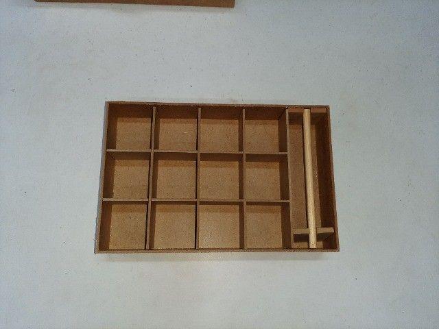 Porta joias com divisorias removiveis - Foto 4