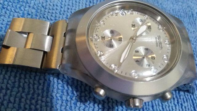 Swatch Irony Diaphane Prata - Foto 5