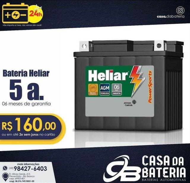 Bateria para moto - Foto 2