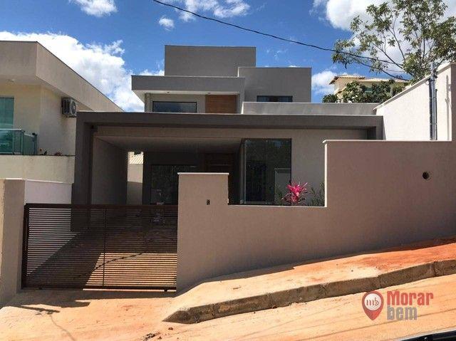 Casa com 3 dormitórios à venda, 155 m² por R$ 750.000,00 - Condomínio Trilhas Do Sol - Lag