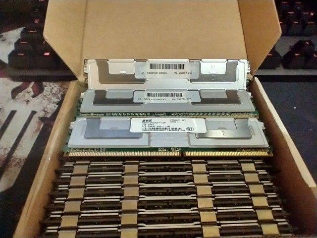 Memórias para servidor DDR2 1GB e 2 GB com dissipador - Foto 4