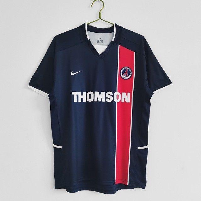 Camisa Paris Saint Germain Frete Grátis Retrô Ronaldinho Gaucho - Foto 5