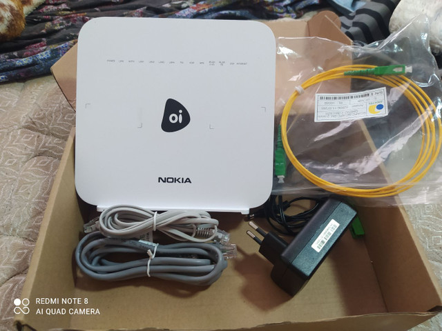 Roteador Nokia oi G-140W-H  - Foto 2