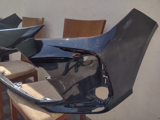 Parachoque Dianteiro Corolla 2020 Preto original usado ate em 10x sem juros  - Foto 3