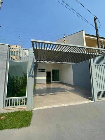 Casa nova com 3 dormitórios à venda, 105 m² por R$ 480.000 - Jd Alto Da Boa Vista - Maring - Foto 2