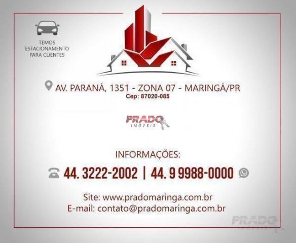 Casa nova com 3 dormitórios à venda, 105 m² por R$ 480.000 - Jd Alto Da Boa Vista - Maring - Foto 20