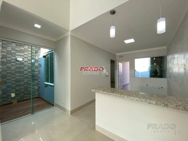 Casa nova com 3 dormitórios à venda, 105 m² por R$ 480.000 - Jd Alto Da Boa Vista - Maring - Foto 6