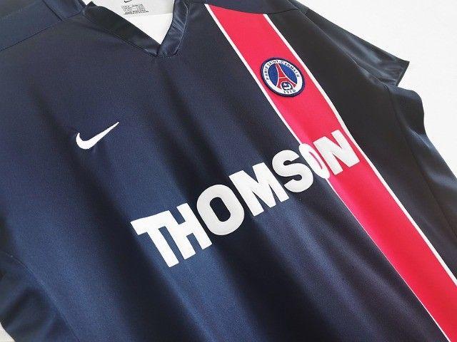 Camisa Paris Saint Germain Frete Grátis Retrô Ronaldinho Gaucho