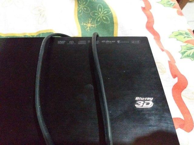 Blu-ray 3D Sony + óculos 3D - Foto 2