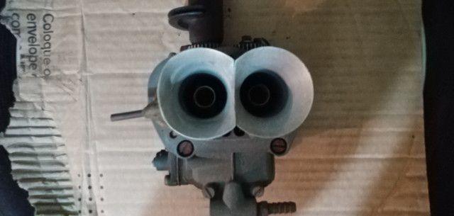 Carburador 3e, h30 34 BLFA, miniprogressivo. Coletor chevette, mufla - Foto 4