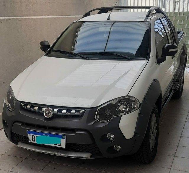 Fiat Strada Adventure CE 1.8 flex RS 2013 completa excelente estado