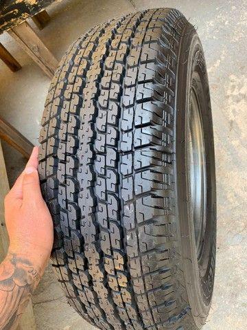 Vendo 4 pneus cada um de uma medida todos novos zero com rodas  - Foto 4