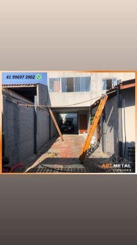 Mezaninos Metálicos,  mezaninos casa,  mezaninos comércio, escadas retas e caracol  - Foto 3