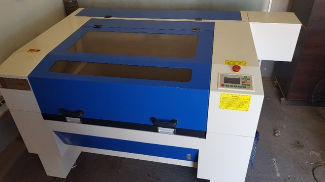 Maquina de corte e gravação a laser - Foto 2