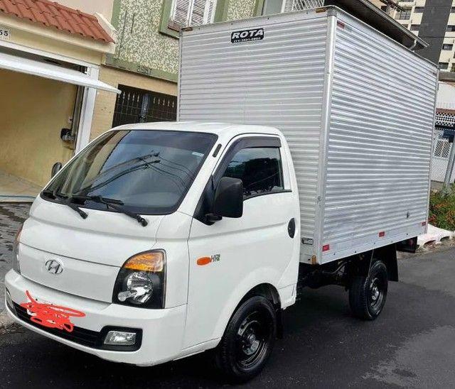 Hyundai HR 2.5 HD com baú carga seca 2014 - Foto 4