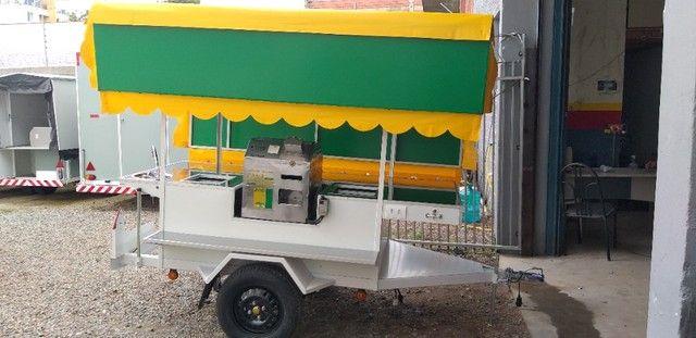 carretinha, carrinho de caldo de cana - Foto 3