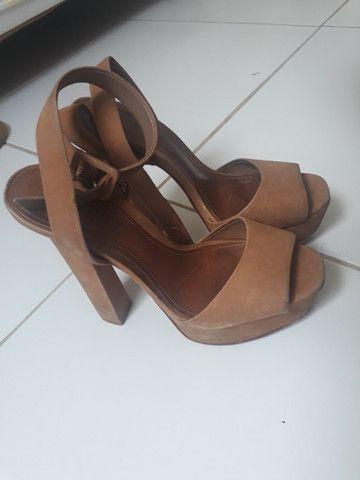 Sandália de salto Shultz - Foto 2
