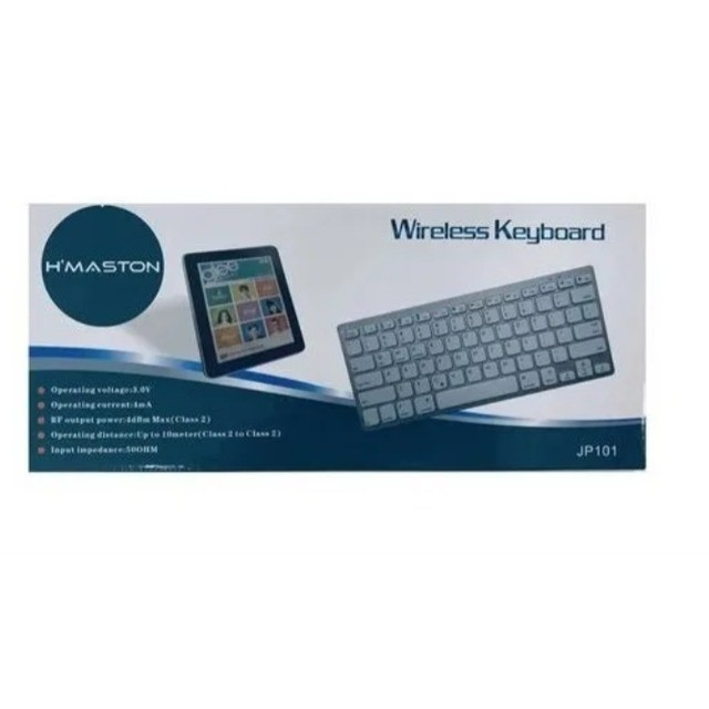 Mini Teclado Portátil Bluetooth Wireless para Computador Notebook - Foto 5