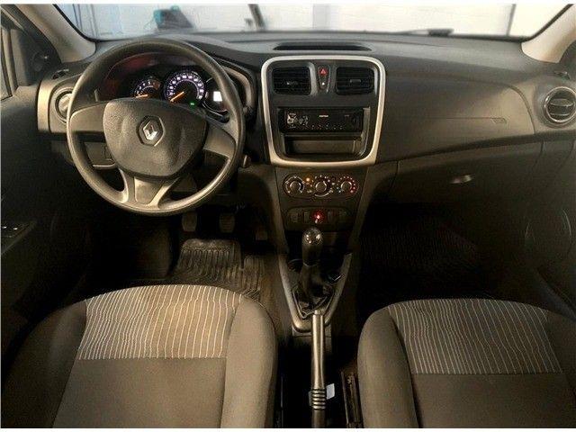 Novíssimo! Renault Logan 1.0 12v Flex Authenique Manual 2019 (+pequena entrada)  - Foto 5